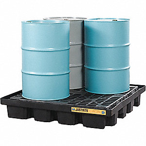 SPILL CONTAINMENT PALLET4 DRUM