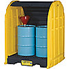 DRUMSHED STORAGE UNIT, 2 DRUMS, POLY