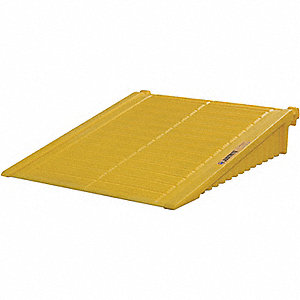 RAMP FOR DRUMSHED, 2-4 DRUMS, POLY, YLW