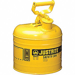 TYPE I SAFETY CAN, 2 GALLON, YLW