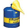 CAN SAFETY 5G/20L BLU W/FNL