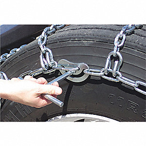 TIRE CHAINS 11X245 SINGLE PAIR/PA