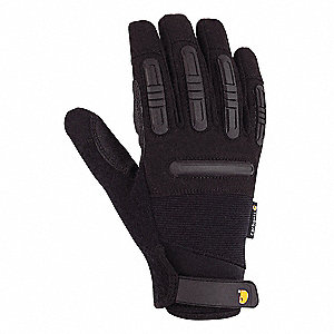 Mechanics Gloves,M,Synthetic Suede,PR