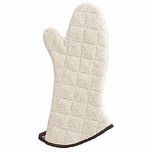 "13"" Terry Oven Mitt, Conventional, Natural"