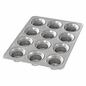 Mini Crown Muffin Pan,12 Moulds