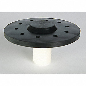 "Polypropylene Diffuser, Type: Medium Bubble Cap, 3"" Dia., Ideal For Water Aeration/Oxygenation"