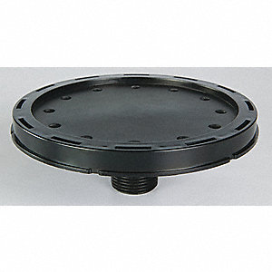 "Polypropylene Diffuser, Type: Medium Bubble, 5"" Disc, Ideal For Water Aeration/Oxygenation"
