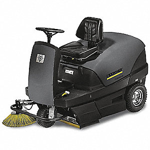 SWEEPER VAC 40IN BATTERY OP RIDE 0