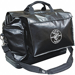 TOOL BAG BLACK VINYL LARGE