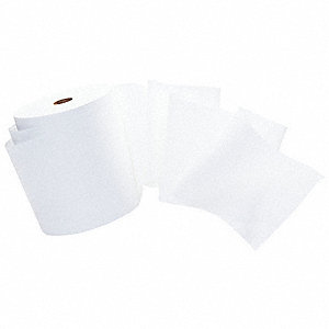 TOWELS HARD ROLL WH 1-PLY 1000/RL 12/CS