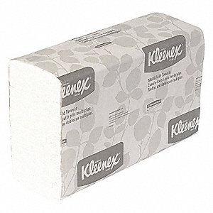 TOWELS M-FOLD WH 1-PLY 150/PK