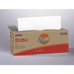 WIPERS WYPALL POP-UP BOX WH 9BX/CA