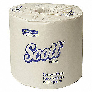 BATHROOM TISSUE 2-PLY SCOTT 80RL/CA