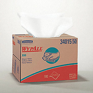 WIPERS WYPALL BRAG BOX WH 180SH/BX