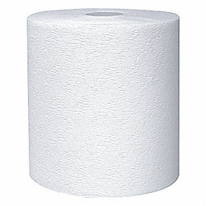 TOWELS HARD ROLL WH 1PLY 12/CS