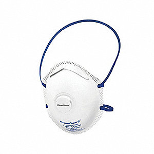 RESPIRATOR N95 WITH VALVE 10/BX
