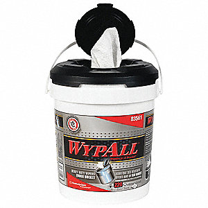 REFILL WIPERS IN A BUCKET WYPALL