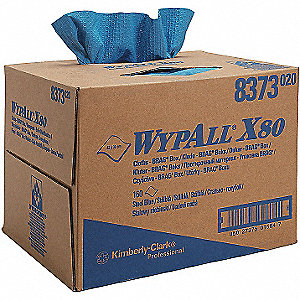 WYPALL X80 TOWELS BLUE