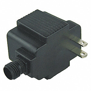 Plug-in Transformer, Wall Mount, Cord Included Style, 12VAC Output Voltage, 120VAC Input Voltage