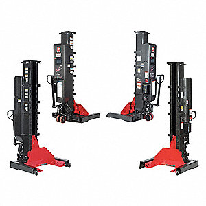 Wireless Lifting System, 74,000lbs,4 Set