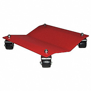 Auto Dolly, Steel, 12 W x 16 L in.