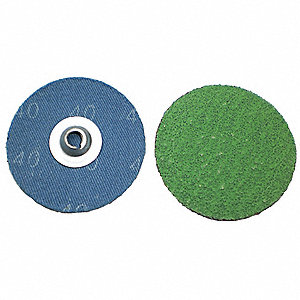 Cloth Disc,2In,120 Grit,TS,PK100