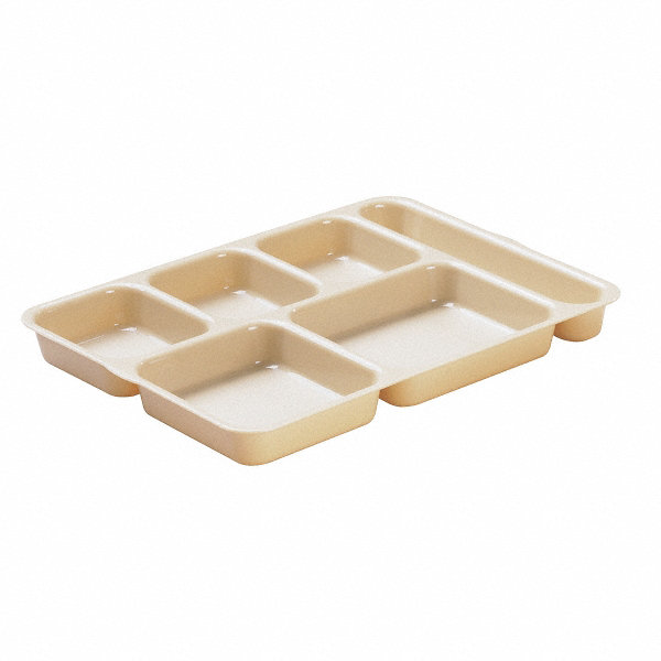 Cambro Tray W Compartments 10x14 3 16 Beige 11n705