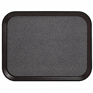 Tray,Non-Skid,15x20,Black