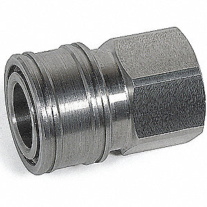 COUPLER 1/4 FEMALE SSTEEL