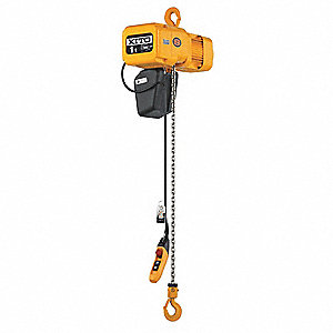 HOIST 220V 2T 15FT LIFT 14/2.5 FPM