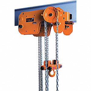 HOIST/TROL MANUAL STEEL 1T 0 0FT