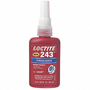 THREADLOCKER 243 OIL TOLERANT 50 L