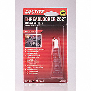 LOCTITE 262 THREADLOCKER - HIGH STR