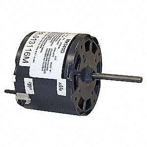 HVAC MOTOR,0.6A,SLEEVE,2 IN. L,