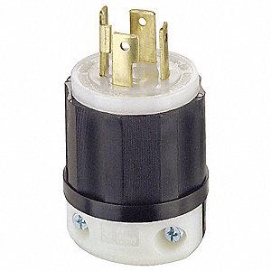 PLUG LOCKING 4W 3P 30A 125-250V