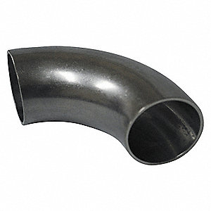 "T304 Stainless Steel Short Tangent Elbow, 90°, Butt Weld Connection Type, 2"" Tube Size"