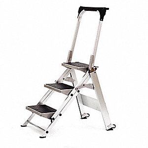 Little Giant Ladder 3 Step Safety Step W Bar Step Stools