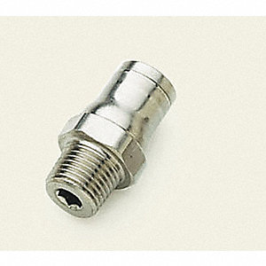 MALE CONNECTOR 1/2 OD X 1/2 NPT