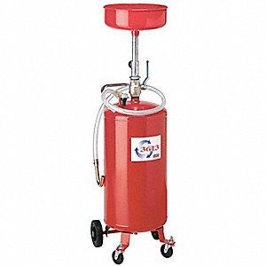 Oil Drain Pressurized 14in Bowl