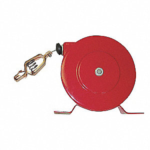 REEL STATIC GROUND 50FT W/CLIP