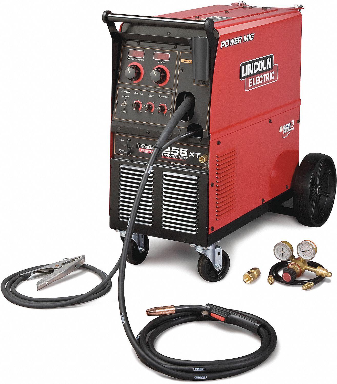Lincoln Electric Power Mig 255 Mig Welders Lnek2701 1 K2701 1 Grainger Canada