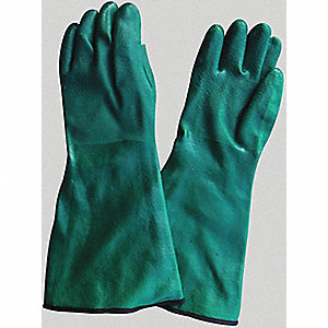 GLOVE PVC COATED 17IN THNSLTE C40