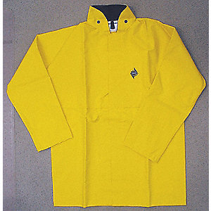 JACKET RAIN W/BACK FLAP FOR D-RING