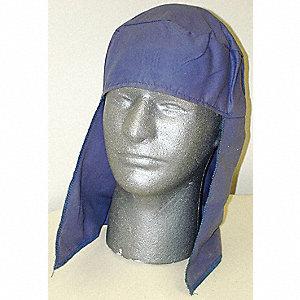 PROTECTOR CAP + NECK COTTON BLUE