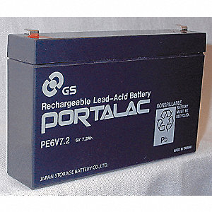 BATTERY EMERGENCY 6VDC 7.5AMP
