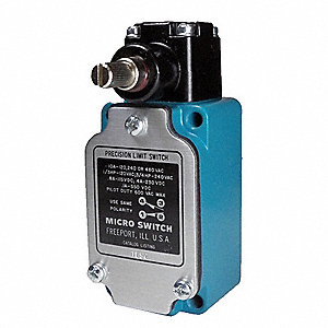 Rotary, No Lever General Purpose Limit Switch; Location: Side, Contact Form: 1NC/1NO, Rotary, Mainta