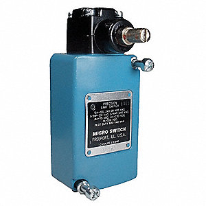 Limit Switch Head, 480VAC Voltage Rating, 10 Amps, Side Actuator Location
