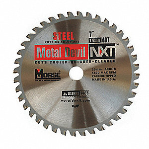 CIRCULAR BLADE 8 42T FOR STEEL