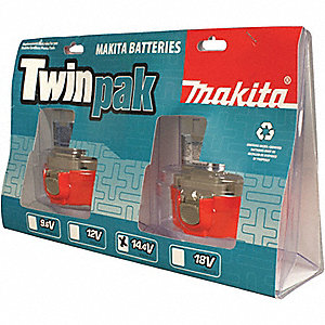 BATTERIES 14.4V TWIN PACK