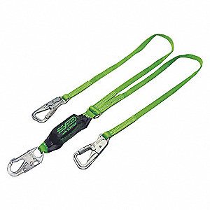 LANYARD TIE BACK GRN NYLON 5FT